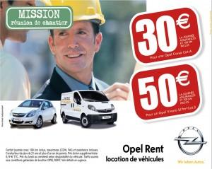Opel Rent - Partenaires OTT